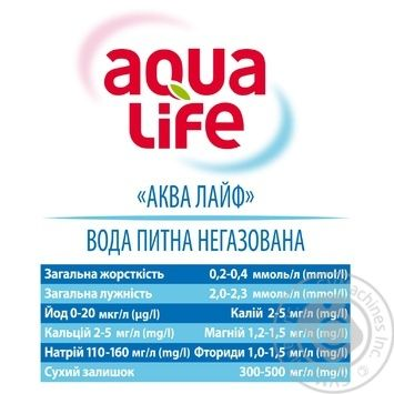 Вода Aqua Life негазированная 5л - купить, цены на Novus - фото 3