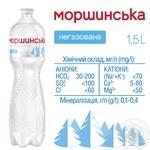 Мінеральна вода Моршинська природна негазована 1,5л - купити, ціни на МегаМаркет - фото 3