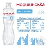 Still natural mineral water Morshynska 0,5l - buy, prices for Novus - image 4
