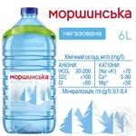 Вода Моршинская негазировання 6л - купить, цены на МегаМаркет - фото 3