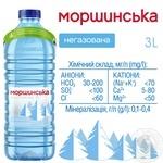 Still natural mineral water Morshynska 3l - buy, prices for MegaMarket - image 3