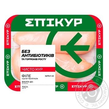Филе Epikur цыпленка-бройлера охлажденное - купить, цены на МегаМаркет - фото 1