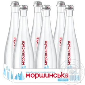 Вода мінеральна Моршинська негазована 0,5л - купити, ціни на Метро - фото 3