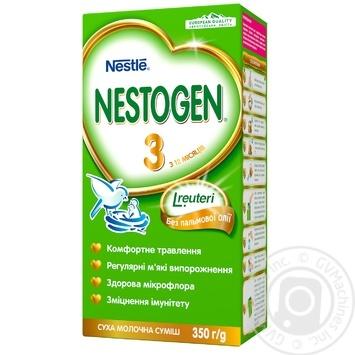 Суміш молочна Neastle Nestogen L. Reuteri 3 суха з пребіотиками для дітей з 12 місяців 350г