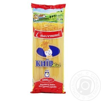 Изделия макаронные Киев микс вермишель длинная спагетти 1кг - купить, цены на Novus - фото 1