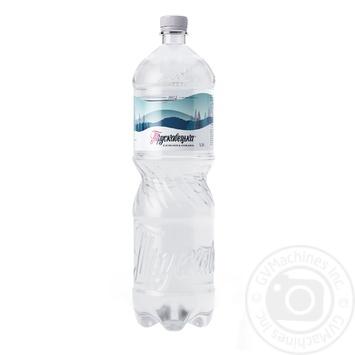 Вода Трускавецкая сильногазированная 1,5л - купить, цены на Ашан - фото 1