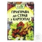 Приправа Эко к блюдам из картофеля 20г - купить, цены на Novus - фото 1