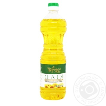 Масло подсолнечное Українська зірка нерафинированное 810мл - купить, цены на Таврия В - фото 1