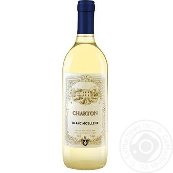 Вино Charton Blanc Moelleux біле напівсолодке 10% 0,75л