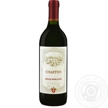 Вино Charton Руж Муале красное полусладкое 750мл