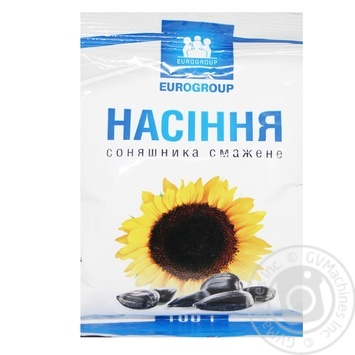 Eurogroup Roasted Sunflower Seeds 100g