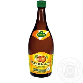 Уксус Kuhne яблочный 5% 750мл - купить, цены на Ашан - фото 1