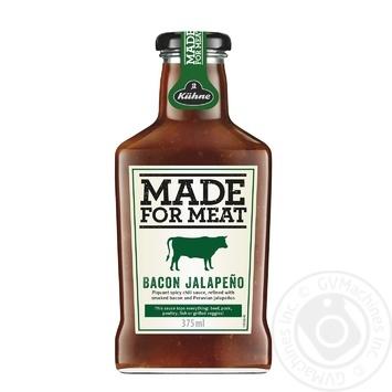 Соус Made For Meat Бэкон Халапеньо 375мл - купить, цены на Novus - фото 1