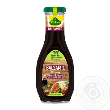 Kuhne Balsamic Dressing 250ml - buy, prices for CityMarket - photo 1