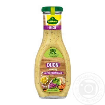 Kuhne French for salad sauce 250ml - buy, prices for Novus - image 1