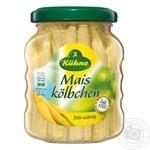 Kuhne Mais Kolbchen canned corn 180g