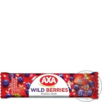 АХА With Wild Berries Filling Grain Bar 23g