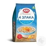 Хлопья AXA Премиум 4 злака 500г