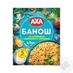 Каша AXA банош з вершками, морквою і зеленню 40г - купити, ціни на Novus - фото 1