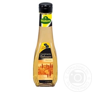 Уксус Кюне бальзамический из белого вина 5% 250мл - купить, цены на Novus - фото 1