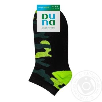 Носки Duna детские укороченные черные 22-24р - купить, цены на СитиМаркет - фото 1