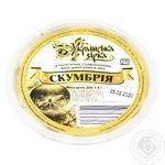 Ukrainian Star Mackerel Fillet Pieces in Oil Preserves 200g - buy, prices for Tavria V - image 1