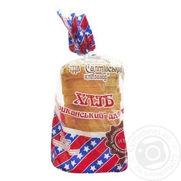 Хлеб Салтовский хлебозавод Американский для тостов 320г - купить, цены на Таврия В - фото 1