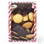 Печенье Делиция в черном шоколаде со вкусом апельсина 500г - купить, цены на Varus - фото 1