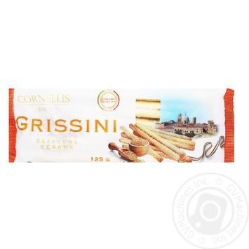 Палочки Cornellis Grissini хлебные с семенами кунжута 125г