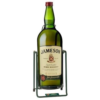 Виски Jameson 40% 4,5л в подарочной упаковке - купить, цены на Фуршет - фото 3