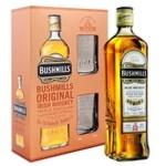 Bushmills Original Whisky 40% 0,7l + 2 Glass