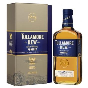 Віскі Tullamore Dew Phoenix 55% 0,7л - купити, ціни на МегаМаркет - фото 1