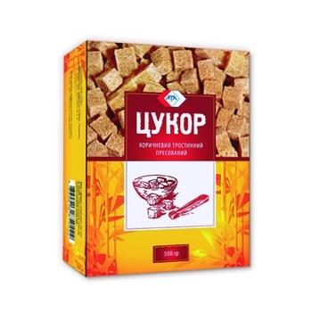 Сахар АТА тростниковый коричневый прессованный 500г - купить, цены на Novus - фото 3