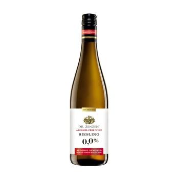 Вино Dr.Zenzen Deutscher Riesling белое сладкое безалкогольное 0,75л - купить, цены на Восторг - фото 2