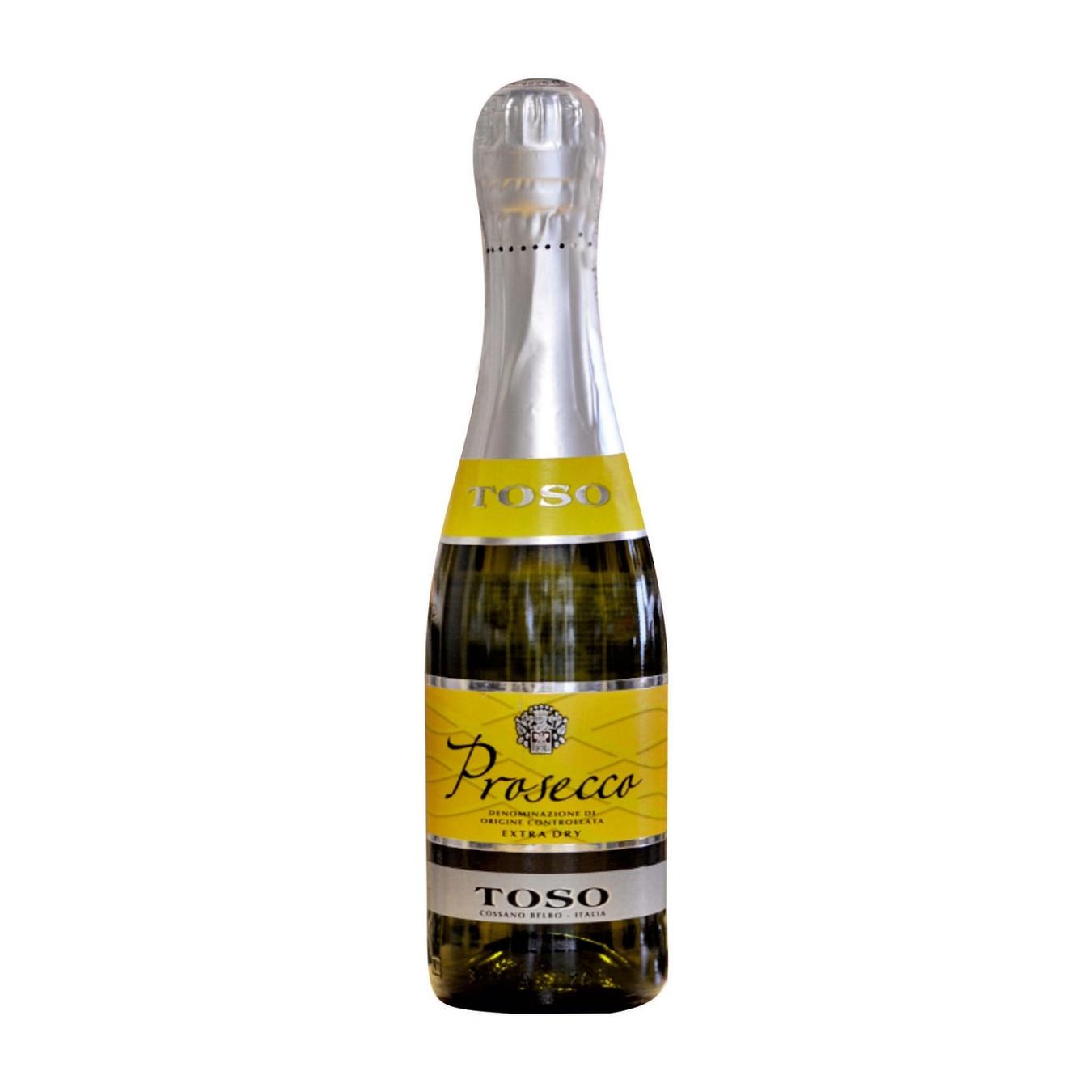Купить 499676, Вино игристое Toso Prosecco белое сухое 0, 2л