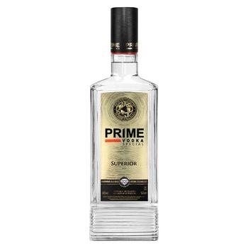 Горілка Prime Superior 40% 0.5л - купити, ціни на CітіМаркет - фото 1