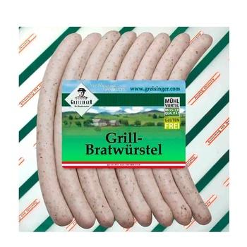 Greisinger Bratwurt Sausages for Grilling 400g - buy, prices for CityMarket - photo 1