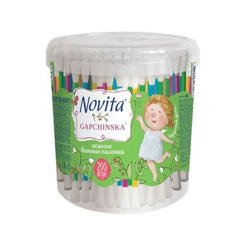 Novita delicate Sticks are cotton 200pcs - buy, prices for Novus - image 1