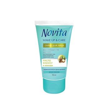 Novita Make Up&Care Face scrub 150ml - buy, prices for Novus - image 1