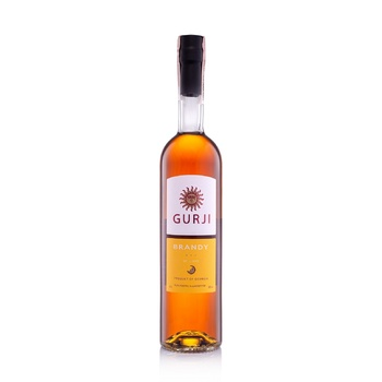Gurji De Luxe Brandy 3 stars 40% 0,5l - buy, prices for Novus - image 1