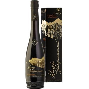Вино Chateau Chizay Кагор Закарпатский красное десертное выдержанное 16% 0,5л