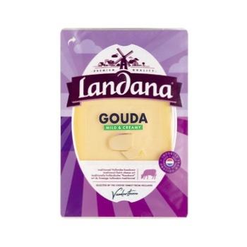 Сыр Landana Гауда Майлд 48% 150г - купить, цены на Восторг - фото 1