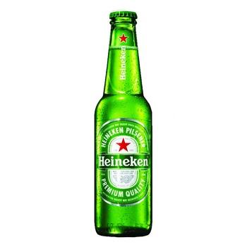 Heineken light filtered pasteurized beer 5% 0,33l - buy, prices for CityMarket - photo 1