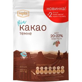 Какао-порошок Мрия 22% 100г - купить, цены на Метро - фото 1