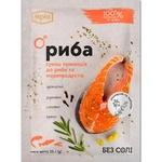 Приправа Мрія Суміш пряностей до риби та морепродуктів 25г