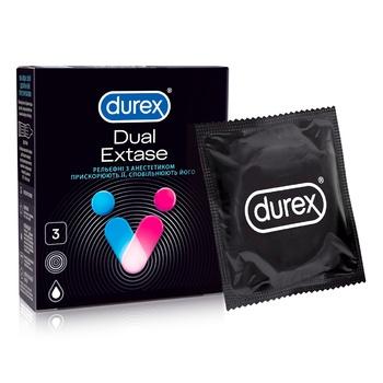 Презервативы Durex Extase №3 3шт - купить, цены на Ашан - фото 1