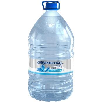 Минеральная вода Знаменовская природная лечебно-столовая негазированная 5л - купить, цены на СитиМаркет - фото 1
