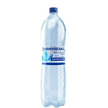 Znamenivska Mineral Natural Medical-table Carbonated Water 1.5l - buy, prices for CityMarket - photo 1