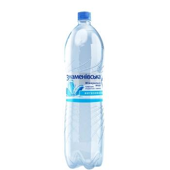 Znamenivska Mineral Water Natural Medical-table Non-carbonated 1.5l