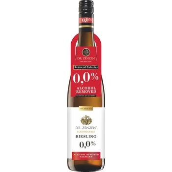 Вино Dr.Zenzen Deutscher Riesling белое сладкое безалкогольное 0,75л - купить, цены на Novus - фото 1